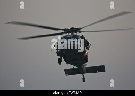 Navy MH-60 Seahawk Helicopter - Stock Photo