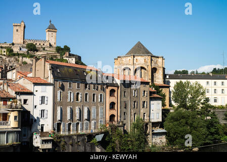 Foix, Midi-Pyrenees, France, Europe - Stock Photo