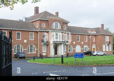 Pitmaston House, the recently opened Birmingham headquarters of the Church of Scientology in Moseley, Birmingham, - Stock Photo