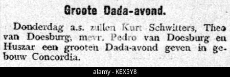 De Gooi  en Eemlander vol 052 no 030 Groote Dada avond - Stock Photo