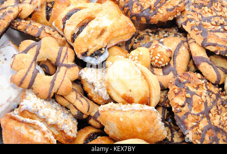 Mixed cookies - Stock Photo