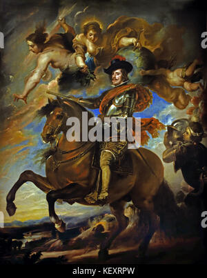 Philip IV of Spain ( Felipe IV) 1605 –1665) was King of Spain (as  Philip IV in Castille and Philip III in Aragon) - Stock Photo
