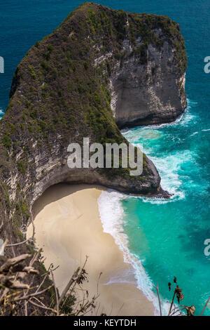 Karang Dawa Viewpoint, Nusa Penida, Bali - Stock Photo