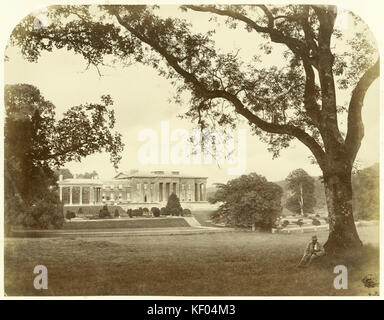 The Grange, Northington, Hampshire. Albumen print of 1860–c.1869 by an unknown photographer. The photographer has - Stock Photo
