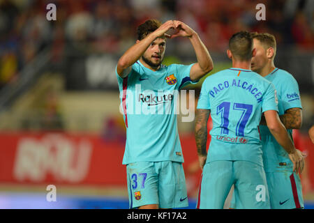 Murcia, Spain. 24th Oct, 2017. Arnaiz during the match between Real Murcia vs. FC Barcelona, COpa del Rey 2017/18 - Stock Photo