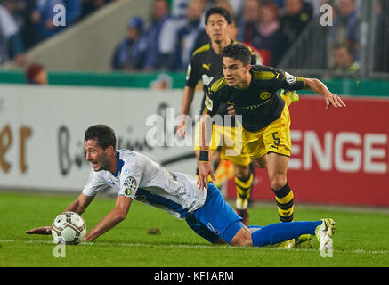 Magdeburg, Germany. 24th Oct, 2017. DFB-Pokal Soccer match, Magdeburg, October 24, 2017 Marc Bartra AREGALL, BVB - Stock Photo