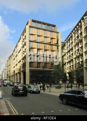 London, UK. 25th October, 2017. Date taken 25th October 2017  Bloomberg New European headquarters in London UK Credit: - Stock Photo