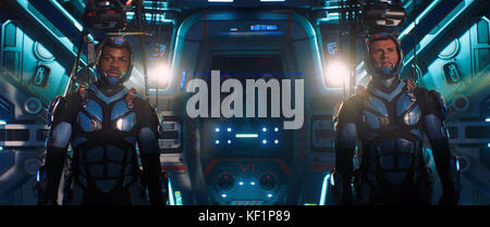 Pacific Rim Uprising is an upcoming American science fiction monster film directed by Steven S. DeKnight and written - Stock Photo
