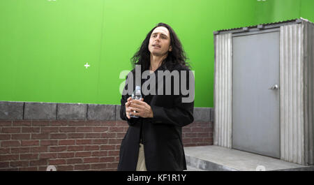 The Disaster Artist is a 2017 American biographical comedy-drama film produced and directed by James Franco. Written - Stock Photo