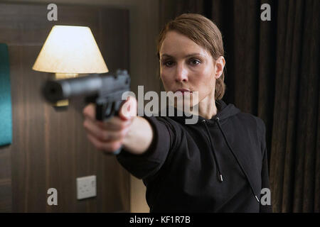 Unlocked is a 2017 American thriller film directed by Michael Apted and written by Peter O'Brien. The film stars - Stock Photo