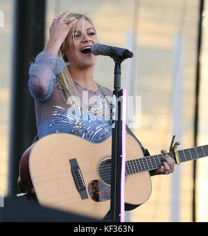 iHeartRadio Music Festival Daytime Village at MGM Village September 23  Featuring: Kelsea Ballerini Where: Las Vegas, - Stock Photo