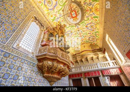 Coimbra Sao Miguel Chapel - Stock Photo