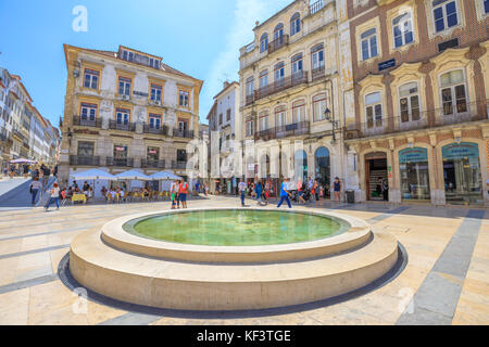 Coimbra Town Portugal - Stock Photo
