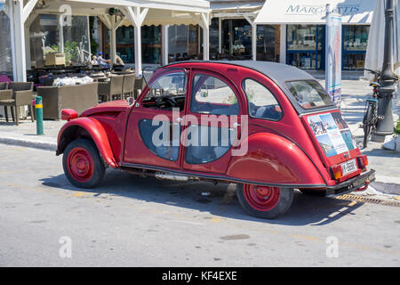 citroen 2cv greece