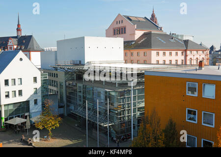 staatstheater in mainz rheinland pfalz grosses haus treppenhaus stock photo royalty free. Black Bedroom Furniture Sets. Home Design Ideas