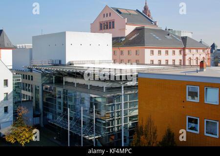 Staatstheater in Mainz, Rheinland-Pfalz, Kleines und Grosses Haus - Stock Photo