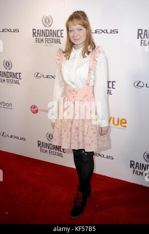 25th Raindance Film Festival, at the Vue Cinema in Leicester Square, London.  Featuring: Kate Mclaughlin Where: - Stock Photo