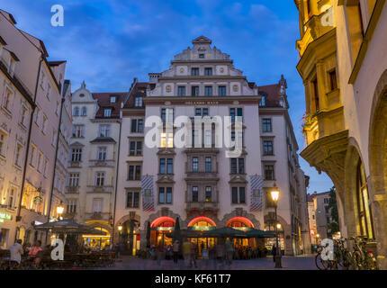 Orlando Haus orlando haus am platzl historic centre munich bavaria stock