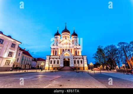 Alexander Nevsky Cathedral, Tallinn - Stock Photo