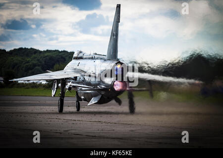 English Electric Lightning, Bruntingthorpe - Stock Photo