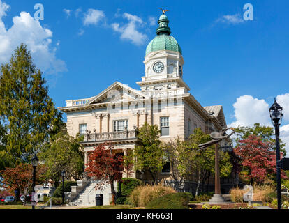 City Hall, East Washington Street, Athens, Georgia, USA - Stock Photo