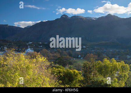 View of Swellendam, Western Cape, South Africa