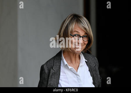 Paris, France. 25th Oct, 2017. Francoise Nyssen, - 25/10/2017 - France/Ile-de-France (region)/Paris - Francoise - Stock Photo