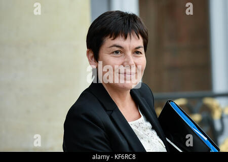 Paris, France. 25th Oct, 2017. Annick Girardin, - 25/10/2017 - France/Ile-de-France (region)/Paris - Annick Girardin, - Stock Photo