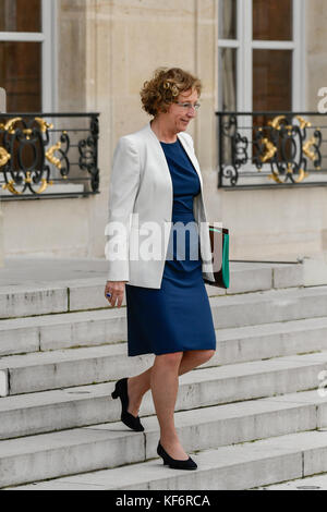 Paris, France. 25th Oct, 2017. Muriel Penicaud, - 25/10/2017 - France/Ile-de-France (region)/Paris - Muriel Penicaud, - Stock Photo