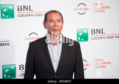 Rome, Italy. 26th Oct, 2017. Wes Studi attends the photocall of Hostiles during the Rome Film Festival 2017 at Auditorium - Stock Photo