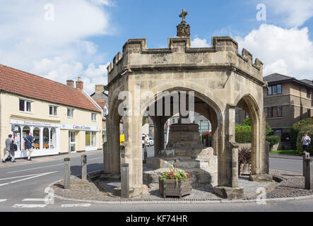 The Market Cross, Cheddar, Somerset, England, United Kingdom - Stock Photo