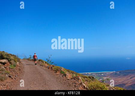 Pico de la Zarza, Fuerteventura - Stock Photo