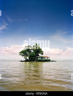 NICARAGUA, Granada, Las Isletas, a series of small privately owned islands - Stock Photo