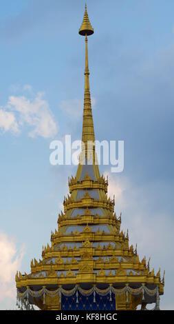 23 October, 2017 - Bangkok, Thailand: a replica of the Royal Crematorium - Stock Photo