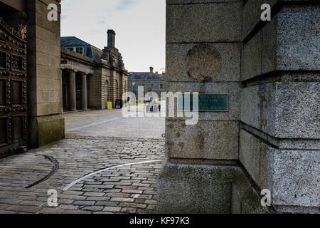 Royal William Yard, Plymouth, Devon, England, UK - Stock Photo