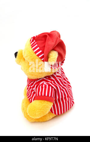Disney's Winnie The Pooh In Night Clothes Soft Toy - Stock Photo
