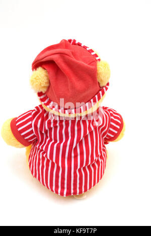 Disney's Winnie The Pooh In Night Clothes Soft Toy Back View - Stock Photo