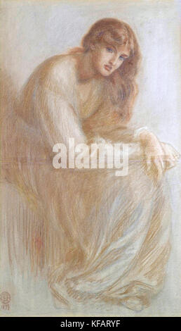 Alexa Wilding by Dante Gabriel Rossetti (1879) - Stock Photo