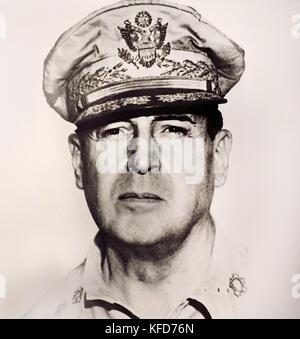US General Douglas MacArthur World War II ( Douglas MacArthur 1880 –  1964 was an American five-star general and - Stock Photo
