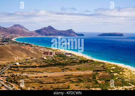 Porto Santo bay - Stock Photo