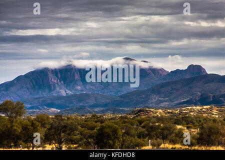 West MacDonnell Range National Park, Northern Territory, Australia - Stock Photo