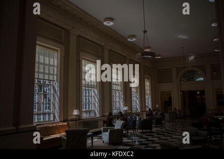 Baker-Berry Library, Dartmouth College, Hanover, New Hampshire - Stock Photo
