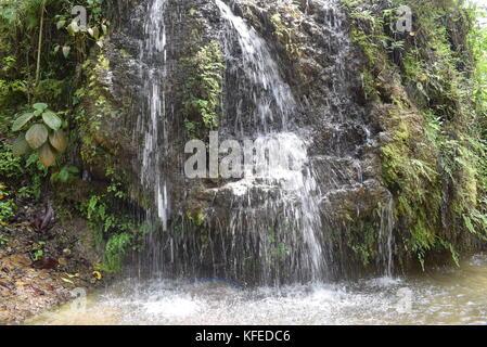 Hermosa cascada en Semuc Champey - Stock Photo