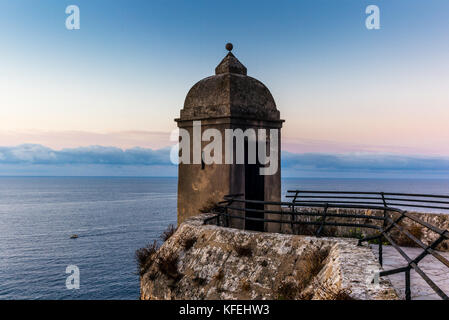 View on the Mediterranean sea from the hills of Monaco - 2 - Stock Photo