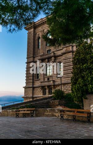 MONTE CARLO, MONACO - SEPTEMBER 6, 2017: View on the ocean from the Museum Oceanographic of Monaco - 2 - Stock Photo