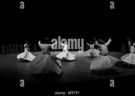dancing dervishes - Stock Photo