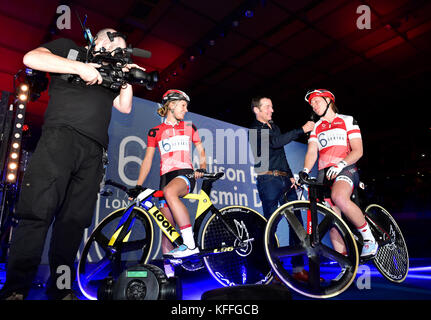 London, UK. 28th Oct, 2017. during Six Day London - day 3 event on Saturday, 28 October 2017, London England. Credit: - Stock Photo