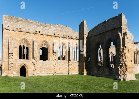 Egglestone Abbey, Barnard Castle, Co. Durham, England, UK - Stock Photo
