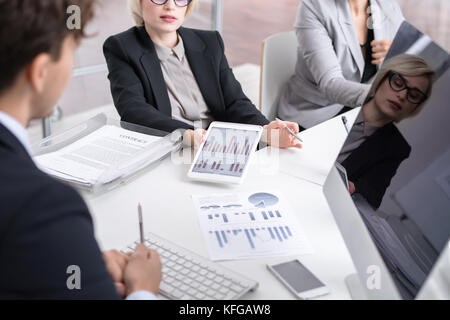 Meeting of Business Analysts - Stock Photo