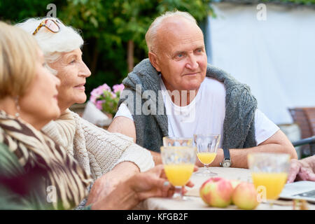 Celebrating Momentous Event with Friends - Stock Photo